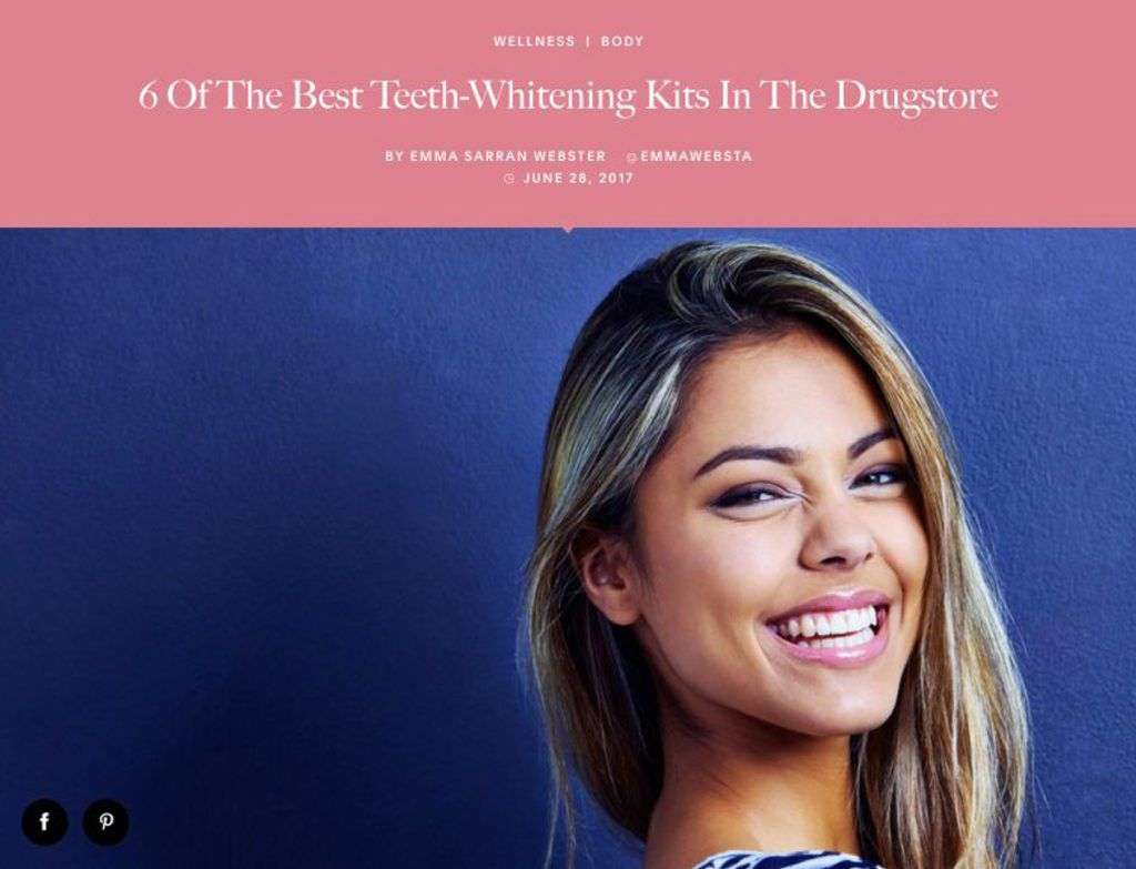 6 Of The Best Teeth Whitening Kits In The Drugstore Beverly Hills Ca Neil Hadaegh Dds