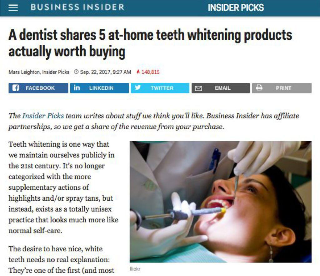 A Dentist Shares 5 At Home Teeth Whitening Products Actually Worth